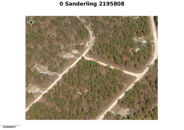 0 Sanderling, Weeki Wachee, FL 34614 (MLS #2195808) :: The Hardy Team - RE/MAX Marketing Specialists