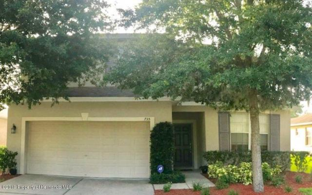 735 Winthrop Drive, Spring Hill, FL 34609 (MLS #2202472) :: The Hardy Team - RE/MAX Marketing Specialists