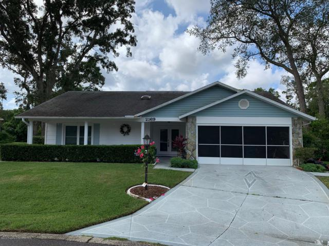 2169 Pebble Beach Drive, Spring Hill, FL 34606 (MLS #2203049) :: The Hardy Team - RE/MAX Marketing Specialists