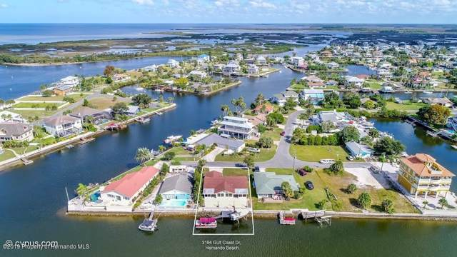 3194 Gulf Coast Drive, Hernando Beach, FL 34607 (MLS #2204414) :: The Hardy Team - RE/MAX Marketing Specialists