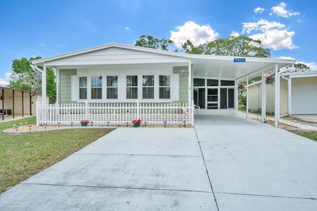 7428 Highpoint Boulevard, Brooksville, FL 34613 (MLS #2204788) :: The Hardy Team - RE/MAX Marketing Specialists