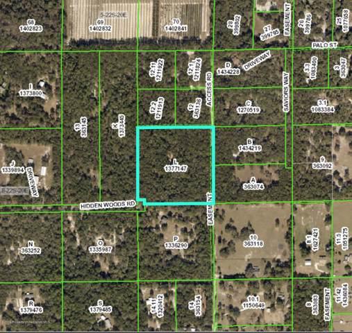 0000 Hidden Woods Road, Brooksville, FL 34601 (MLS #2205152) :: The Hardy Team - RE/MAX Marketing Specialists