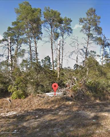 0 Partridge, Spring Hill, FL 34608 (MLS #2205852) :: 54 Realty