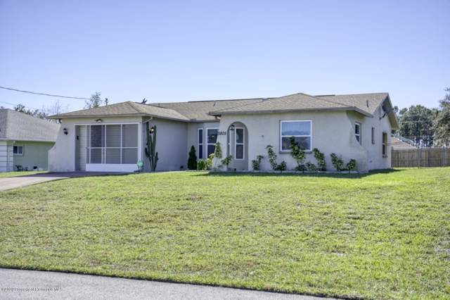 5805 Cactus Circle, Spring Hill, FL 34606 (MLS #2206667) :: The Hardy Team - RE/MAX Marketing Specialists