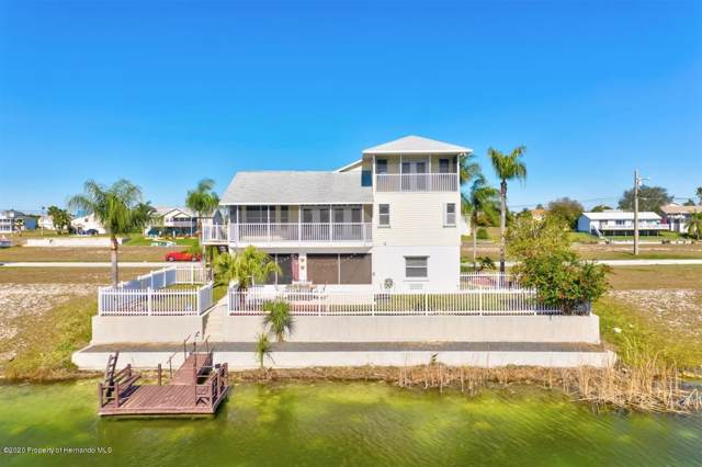 4018 Cobia Drive, Hernando Beach, FL 34607 (MLS #2206700) :: The Hardy Team - RE/MAX Marketing Specialists