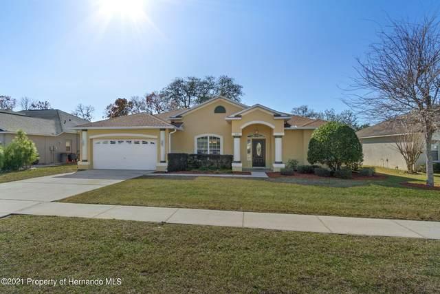 3549 Celebration Drive, Spring Hill, FL 34604 (MLS #2214253) :: Dalton Wade Real Estate Group