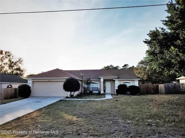 4517 Tiburon Avenue, Spring Hill, FL 34608 (MLS #2214402) :: Premier Home Experts