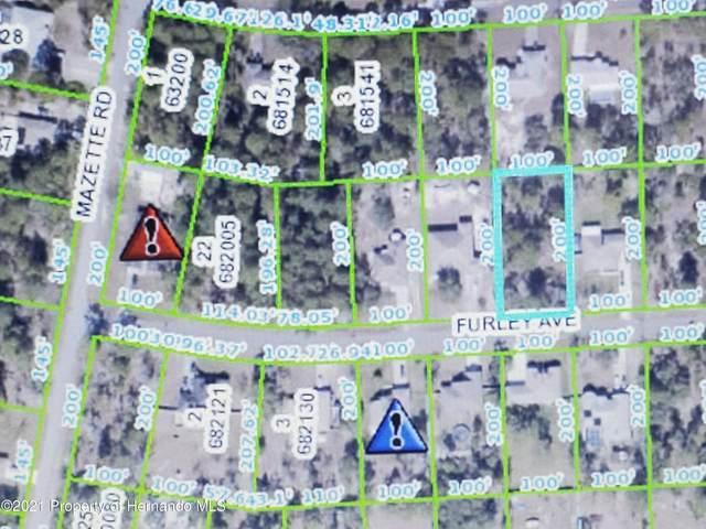 11287 Furley Avenue, Weeki Wachee, FL 34613 (MLS #2214644) :: Premier Home Experts