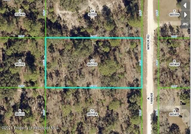 0 Nimick Road, Weeki Wachee, FL 34614 (MLS #2216236) :: Premier Home Experts