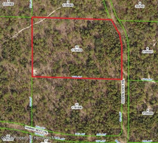 00 Hidden Deer Trail, Weeki Wachee, FL 34614 (MLS #2216640) :: Premier Home Experts