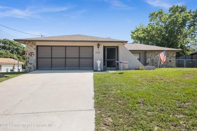 1578 Newhope Road, Spring Hill, FL 34606 (MLS #2217505) :: Dalton Wade Real Estate Group