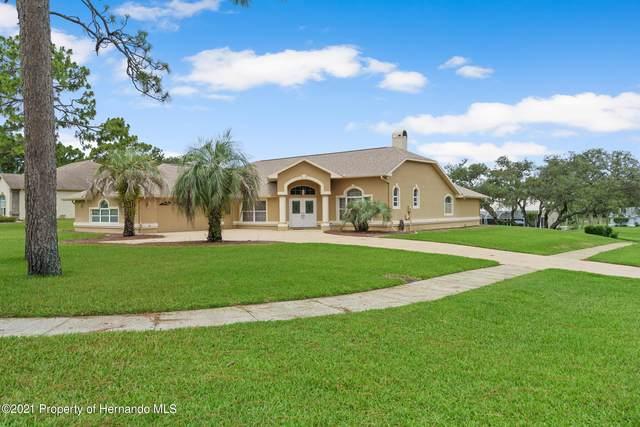14592 Linden Drive, Spring Hill, FL 34609 (MLS #2217512) :: Dalton Wade Real Estate Group