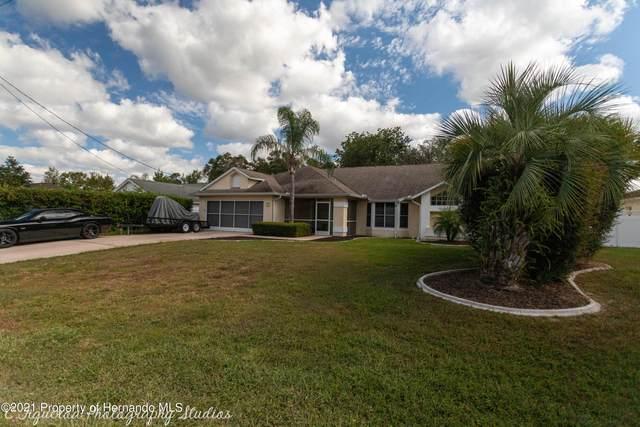 3102 Ambassador Avenue, Spring Hill, FL 34609 (MLS #2220365) :: Dalton Wade Real Estate Group