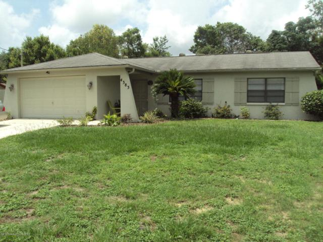 4383 Duval Street, Spring Hill, FL 34606 (MLS #2192546) :: The Hardy Team - RE/MAX Marketing Specialists