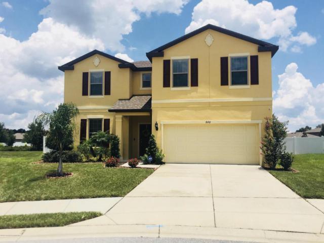 848 Petal Mist Lane, Brooksville, FL 34604 (MLS #2193959) :: The Hardy Team - RE/MAX Marketing Specialists