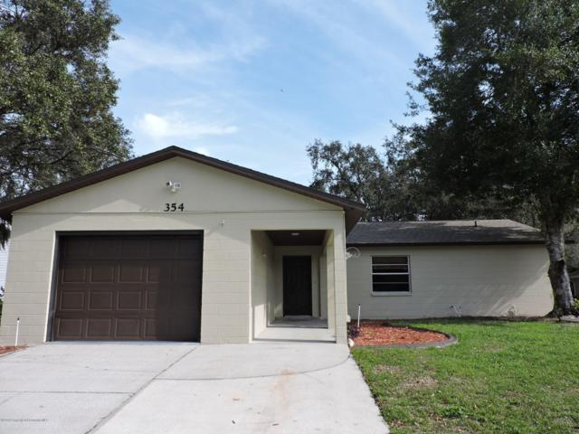 354 Hallcrest Avenue, Spring Hill, FL 34608 (MLS #2196815) :: The Hardy Team - RE/MAX Marketing Specialists
