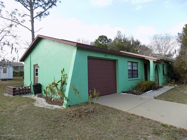 1397 Galveston Avenue, Spring Hill, FL 34609 (MLS #2198459) :: The Hardy Team - RE/MAX Marketing Specialists