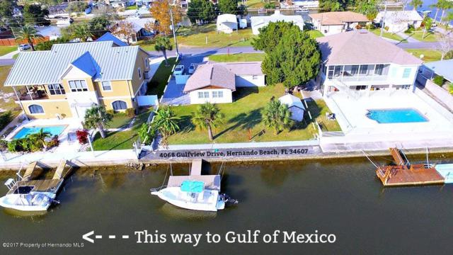 4068 Gulfview Drive, Hernando Beach, FL 34607 (MLS #2187826) :: The Hardy Team - RE/MAX Marketing Specialists