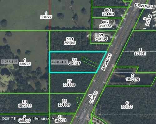 0 Broad Street, Brooksville, FL 34604 (MLS #2182360) :: The Hardy Team - RE/MAX Marketing Specialists