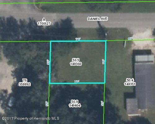 0 Daniel Avenue, Brooksville, FL 34601 (MLS #2182672) :: The Hardy Team - RE/MAX Marketing Specialists
