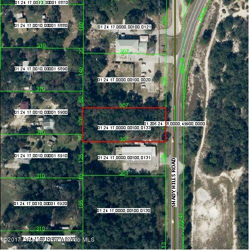 00 Shady Hills Road, Spring Hill(Pasco), FL 34610 (MLS #2183000) :: The Hardy Team - RE/MAX Marketing Specialists