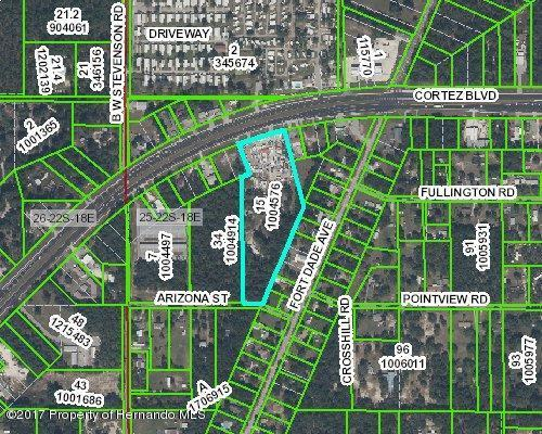 16076 Cortez Boulevard, Brooksville, FL 34613 (MLS #2183274) :: The Hardy Team - RE/MAX Marketing Specialists