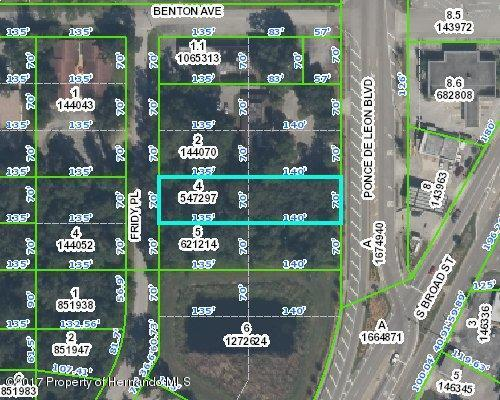 00 Ponce De Leon Boulevard, Brooksville, FL 34601 (MLS #2183601) :: The Hardy Team - RE/MAX Marketing Specialists