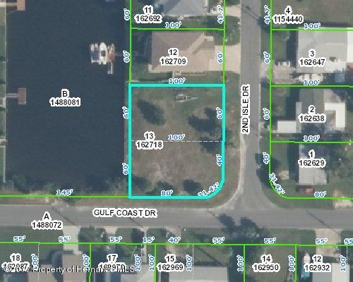 00 2Nd. Isle Dr. Lot 13 #7, Hernando Beach, FL 34607 (MLS #2184583) :: The Hardy Team - RE/MAX Marketing Specialists
