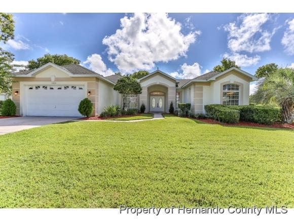3320 St Ives Boulevard, Spring Hill, FL 34609 (MLS #2185804) :: The Hardy Team - RE/MAX Marketing Specialists