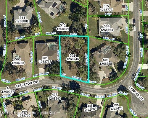 0 Tarleton Circle, Weeki Wachee, FL 34613 (MLS #2186630) :: The Hardy Team - RE/MAX Marketing Specialists