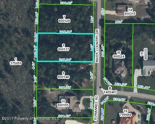 00 River Country Drive, Weeki Wachee, FL 34607 (MLS #2186781) :: The Hardy Team - RE/MAX Marketing Specialists