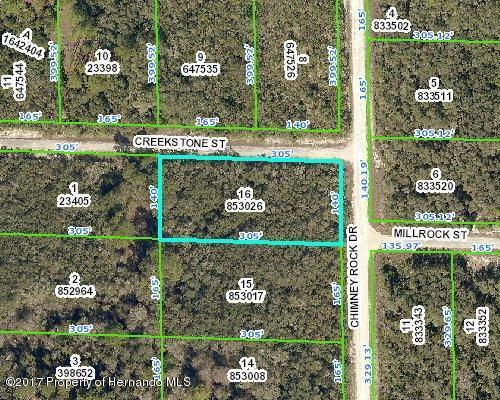 0 Chimney Rock Drive, Webster, FL 33597 (MLS #2187135) :: The Hardy Team - RE/MAX Marketing Specialists