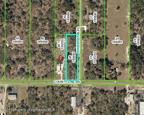 0 County Line Road, Spring Hill, FL 34608 (MLS #2187359) :: The Hardy Team - RE/MAX Marketing Specialists