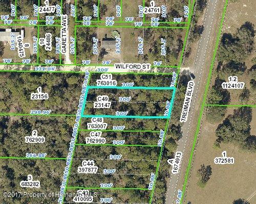 0 Treiman Boulevard, Ridge Manor, FL 33597 (MLS #2188227) :: The Hardy Team - RE/MAX Marketing Specialists