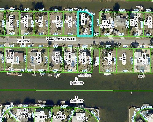 0 Cedarbrook Lane, Hernando Beach, FL 34607 (MLS #2188459) :: The Hardy Team - RE/MAX Marketing Specialists