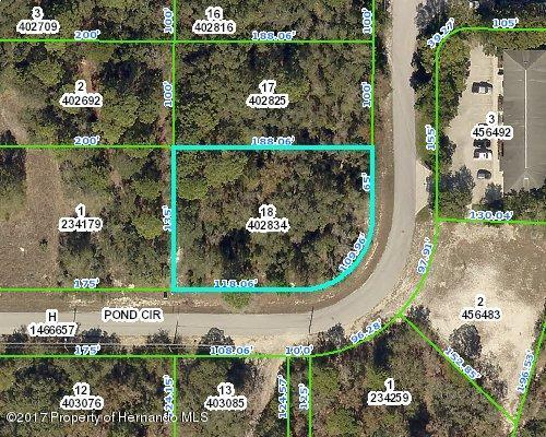 0 Pond Circle, Spring Hill, FL 34606 (MLS #2188773) :: The Hardy Team - RE/MAX Marketing Specialists