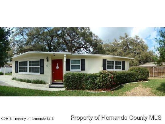 904 Cedar Drive, Brooksville, FL 34601 (MLS #2191872) :: The Hardy Team - RE/MAX Marketing Specialists