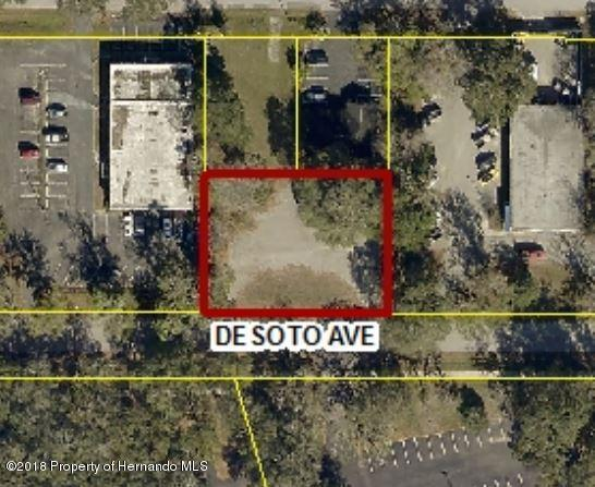 0 Desoto Avenue, Brooksville, FL 34601 (MLS #2192190) :: The Hardy Team - RE/MAX Marketing Specialists