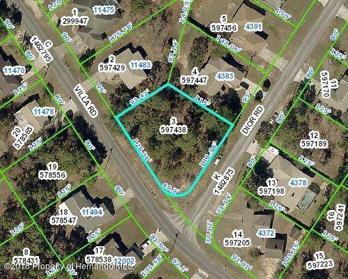 0 Dior Road, Spring Hill, FL 34609 (MLS #2192487) :: The Hardy Team - RE/MAX Marketing Specialists