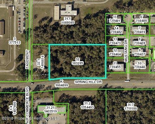 0 Spring Hill, Brooksville, FL 34604 (MLS #2192514) :: The Hardy Team - RE/MAX Marketing Specialists