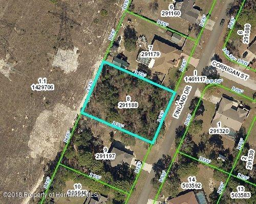 00 Finland Drive, Spring Hill, FL 34609 (MLS #2193260) :: The Hardy Team - RE/MAX Marketing Specialists