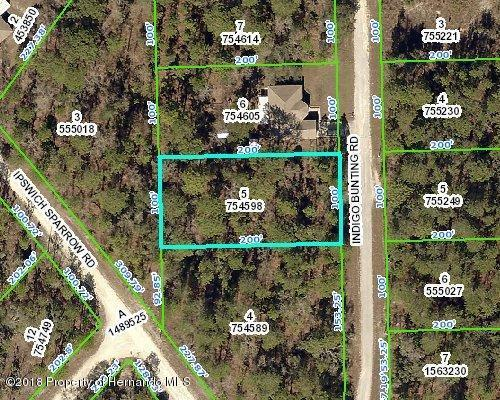 0 Indigo Bunting, Weeki Wachee, FL 34614 (MLS #2194087) :: The Hardy Team - RE/MAX Marketing Specialists