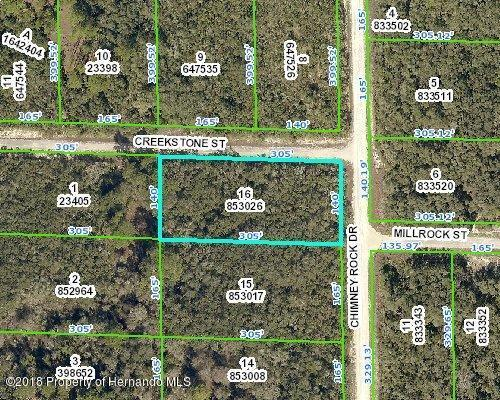 0 Chimney Rock, Webster, FL 33597 (MLS #2196702) :: The Hardy Team - RE/MAX Marketing Specialists