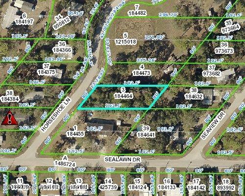 0 Horseshoe Lane, Spring Hill, FL 34606 (MLS #2197029) :: The Hardy Team - RE/MAX Marketing Specialists