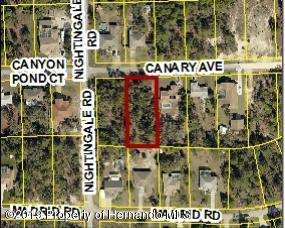 00 Canary Avenue, Weeki Wachee, FL 34613 (MLS #2198909) :: The Hardy Team - RE/MAX Marketing Specialists