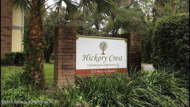173 Hickory Street #17, Brooksville, FL 34601 (MLS #2204110) :: The Hardy Team - RE/MAX Marketing Specialists