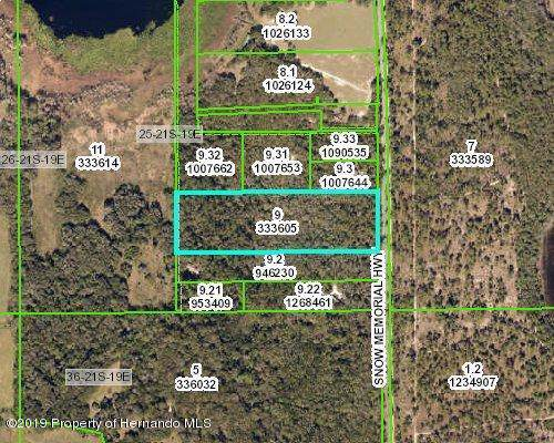 0 Snow Memorial Highway, Brooksville, FL 34601 (MLS #2204580) :: The Hardy Team - RE/MAX Marketing Specialists
