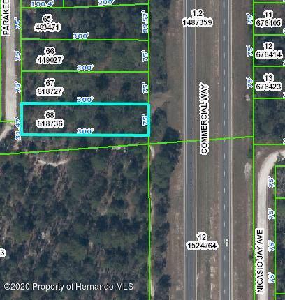 0 Commercial Way, Weeki Wachee, FL 34614 (MLS #2206555) :: 54 Realty