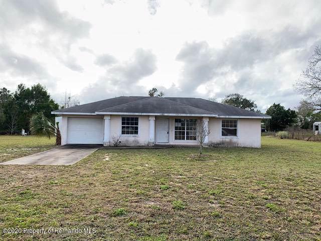 13226 Ester Drive, Brooksville, FL 34613 (MLS #2206742) :: 54 Realty