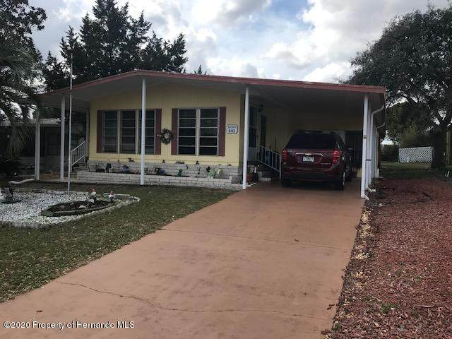 8413 Mohican Avenue, Brooksville, FL 34613 (MLS #2207357) :: 54 Realty